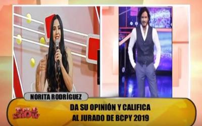 Norita Rodríguez y el día que besó a Mario Cimarro