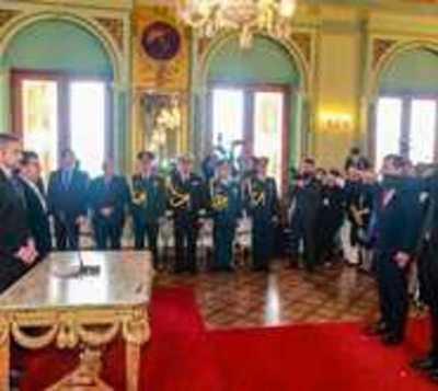Friedmann y Ovelar juran como ministros
