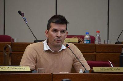 Senador Godoy presentó pedido de interpelación al ministro Juan Ernesto Villamayor