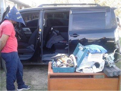 Policía confirma que vehículos incautados fueron utilizados en fuga