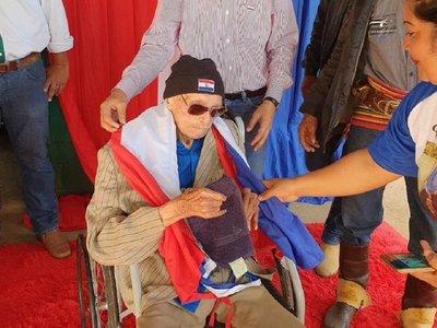 Muere excombatiente a los 106 años