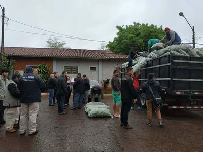 CDE: Fiscalizan con dilación a camiones con contrabando