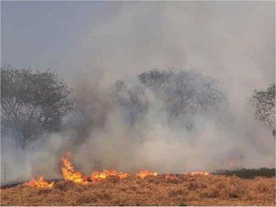 Salud  insta a protegerse contra los efectos de los incendios forestales