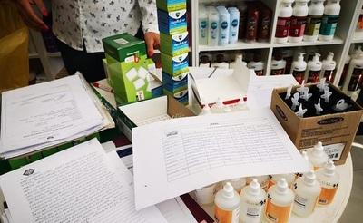 Incautan medicamentos ingresados al país de contrabando