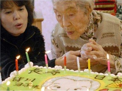 Japón supera por primera vez las 70.000 personas centenarias