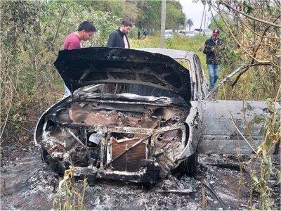 Hallan vehículo incinerado de un hombre desaparecido hace 10 días