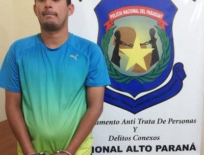 Detienen a presunto cabecilla de asaltantes en Franco