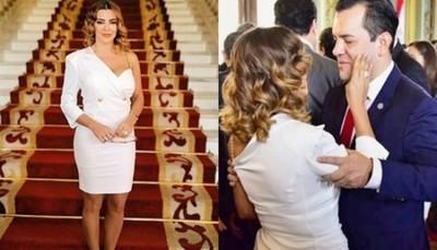 Marly Figueredo Sobre El Nuevo Cargo De Su Marido: 'Sé Que Darás Tu Mejor Esfuerzo'