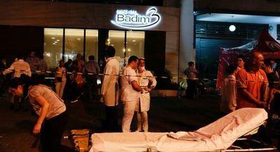 Varios muertos por un incendio en un hospital en Río de Janeiro
