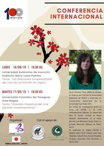 Embajada de Japón invita a las conferencias sobre animación y cine japonés