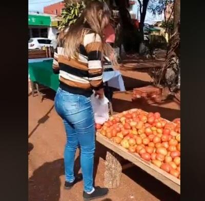 Comienza feria de tomate en Ciudad Nueva