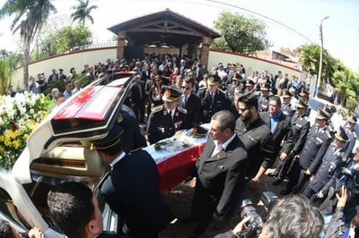 Dieron el último adiós al comisario Félix Ferrari