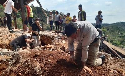 HOY / Hallan nuevos restos óseos en exvivienda de Stroessner: presumen que serían de niños