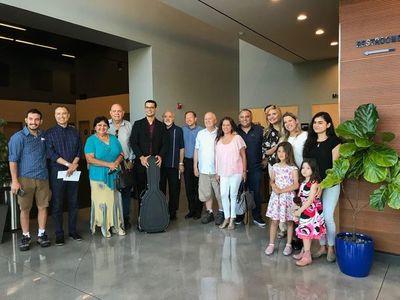 Paraguayos en California celebran el arte