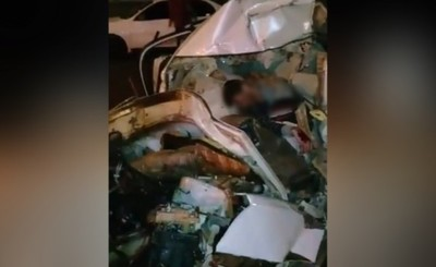 Muere luego de rozar otro vehículo e impactar contra columna de ANDE