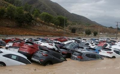 Inundaciones y caos: las crudas imágenes al sur de España a raíz de las lluvias