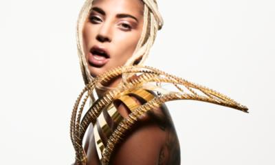 Lady Gaga lució joyas paraguayas en sesión de fotos para la revista Allure