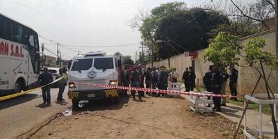 Falleció un guardia en asalto a transportador y piden a Mario Abdo que renuncie