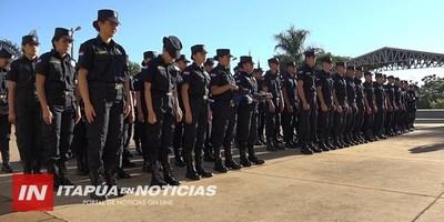 SOLICITARÁN MAYOR DOTACIÓN DE EFECTIVOS PARA EL DEPARTAMENTO DE ITAPÚA