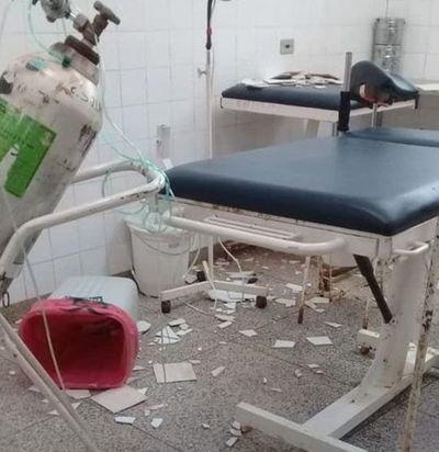 Clausuran sala de partos del Centro de Salud de Mallorquín por deterioro de infraestructura