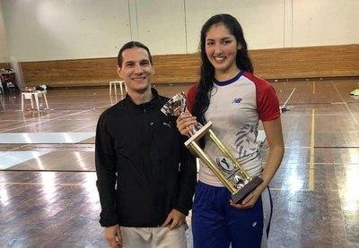 Montserrat Viveros se consagró flamante campeona en Argentina