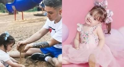 Will Fretes Se Refirió A Lo Rápido Que Está Creciendo Su Hija, Que En Unos Días Cumplirá 2 Años