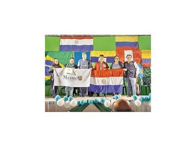 Medalla de bronce a proyecto de alumnos de Capiatá en Perú