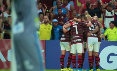 HOY / Flamengo reina en la primera vuelta, Santos flaquea y Fluminense sufre menos