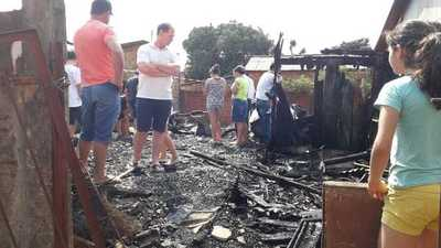 Niño de ocho años muere calcinado durante incendio de una vivienda