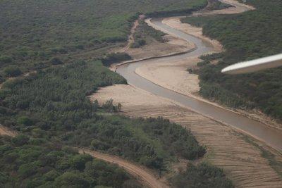 Habilitan canal Meyer para garantizar ingreso equitativo de aguas del Pilcomayo