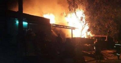 Fuego mató a un nenito de 8 años.