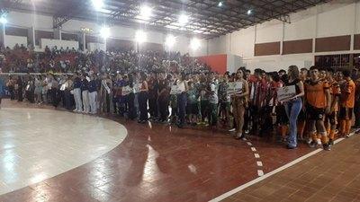 San Pedro vibra con el Nacional C17 de fútbol de salón