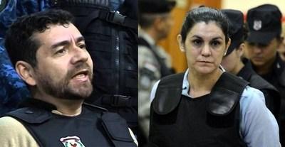 """Tecnología al """"peligroso divorcio"""" de Carmen Villalba y Alides Oviedo, líderes presos del EPP"""