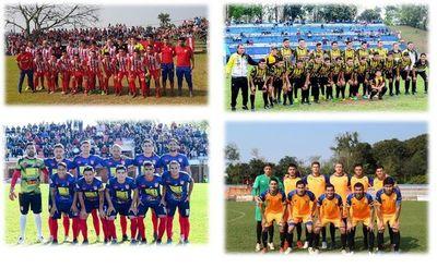 Semifinalistas del Nacional B de la UFI