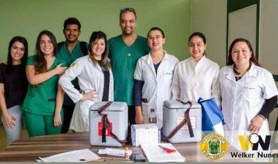 Inmunizan a 672 estudiantes de universidad privada en CDE