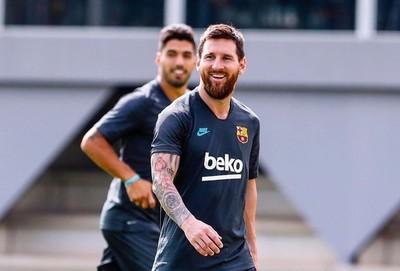 Lionel Messi recibe el alta médica en Barcelona