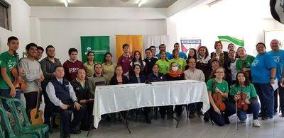 Unos 200 jóvenes participaron de jornada ambiental en Ñemby