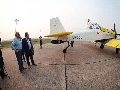 Dos aviones se suman para combatir los incendios del Chaco