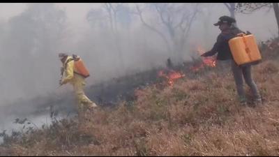 Incendio arruina 500 hectáreas de campo en Yby Ya´u