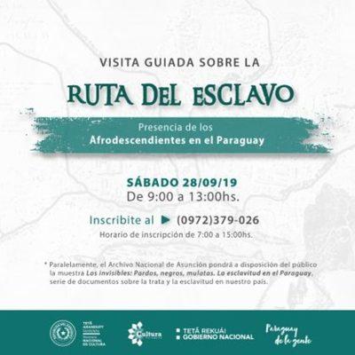 Semana Afroparaguaya presenta exposiciones, charlas, recorridos históricos y fiestas populares