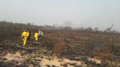Reserva natural de Laguna Blanca, también arrasada por las llamas