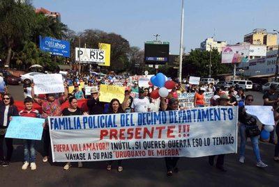 Comerciantes, hartos de manifestaciones y cierres