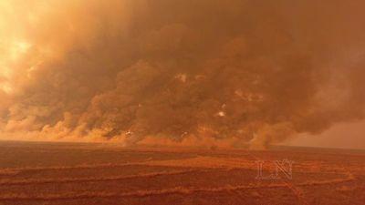 Lamentan consecuencias de salud por incendios forestales