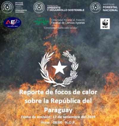Persiste un gran número de focos de calor y el Gobierno despliega operativo conjunto para extinguir el fuego