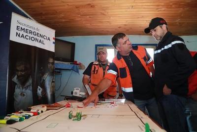 Presidente supervisa tareas encaradas para sofocar incendios en el Chaco