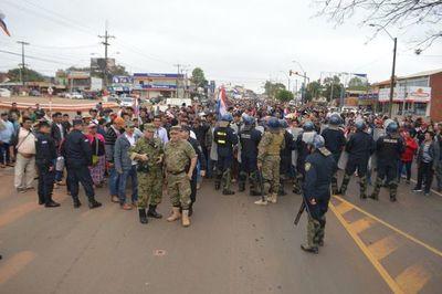 Mandioqueros se movilizan en San Pedro