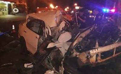 Encuentran vehículo que estaría involucrado en accidente fatal