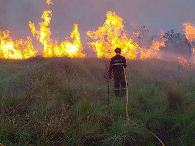 """Chaco: """"Todos los incendios fueron provocados por el ser humano"""", señalan desde el Mades"""