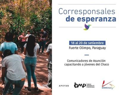 Capacitarán a jóvenes de Alto Paraguay en el área de la comunicación