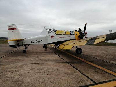 Argentina envió otros dos aviones para combatir los incendios en el Chaco